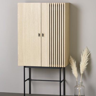 Array highboard oak 80cm