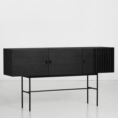 Buffet Array noir 180cm