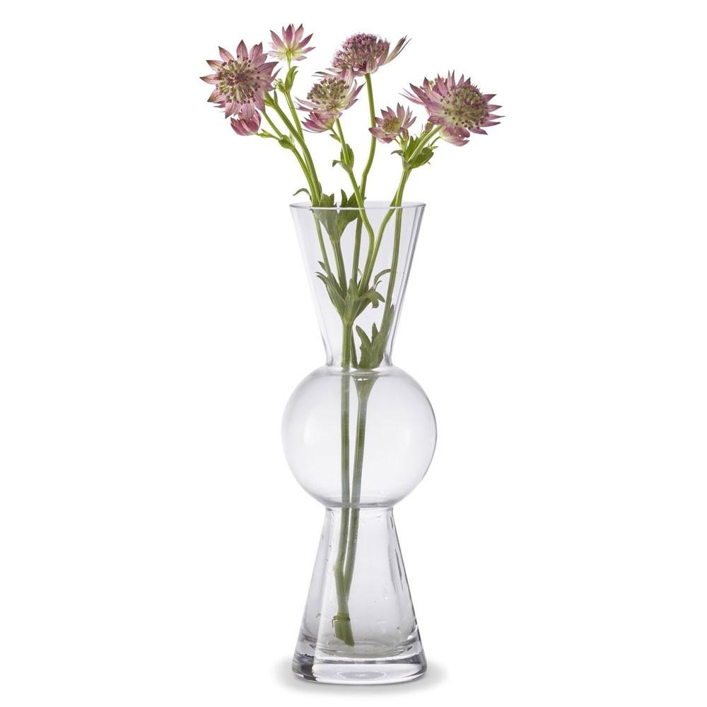 225 & BonBon clear vase