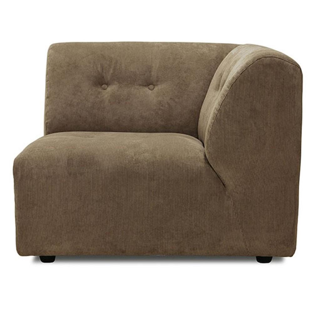 Element C Vint couch brown
