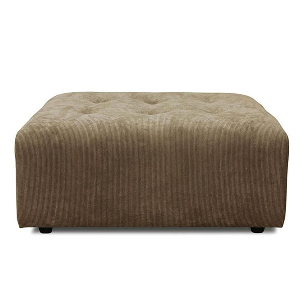 Element hocker Vint couch brown