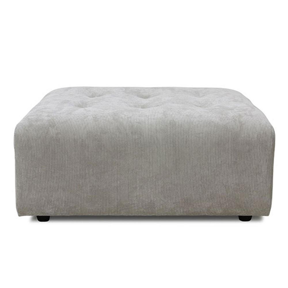 Element hocker Vint couch cream
