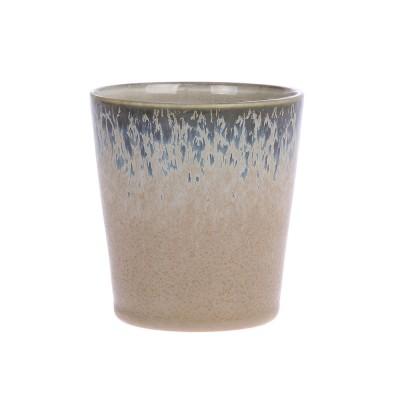 Ceramic 70's mugs bark (set of 6) HK Living