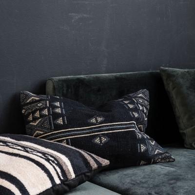 Unik cushion black House Doctor