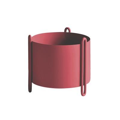 Pot de fleurs Pidestall rouge S
