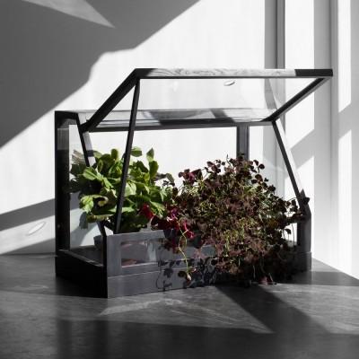 Serre Greenhouse mini gris foncé Design House Stockholm