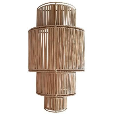 4 floors raffia wall lamp Honoré