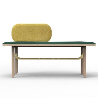 Eustache bench green