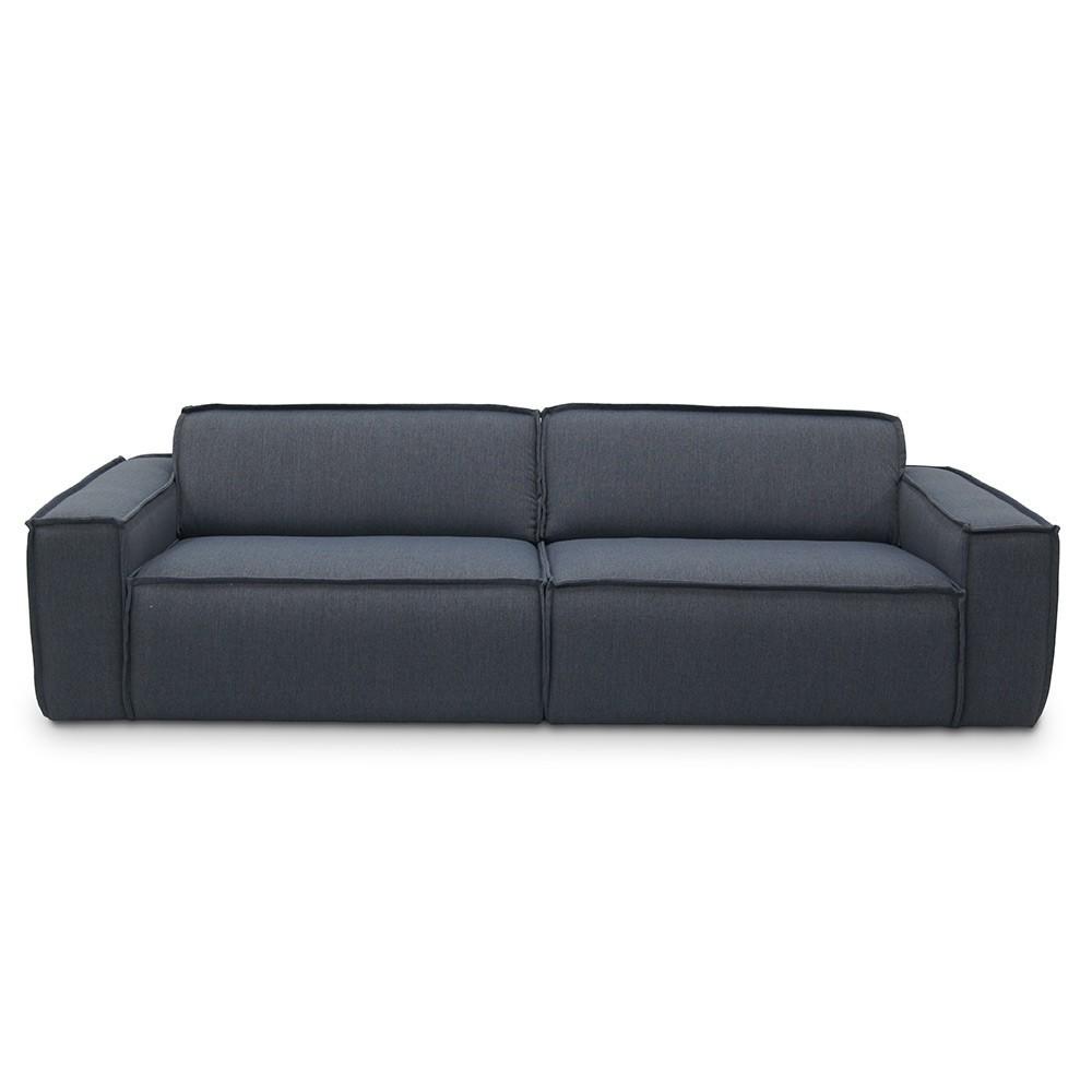 Edge Sofa 3 Seaters Sydney 81 Blue