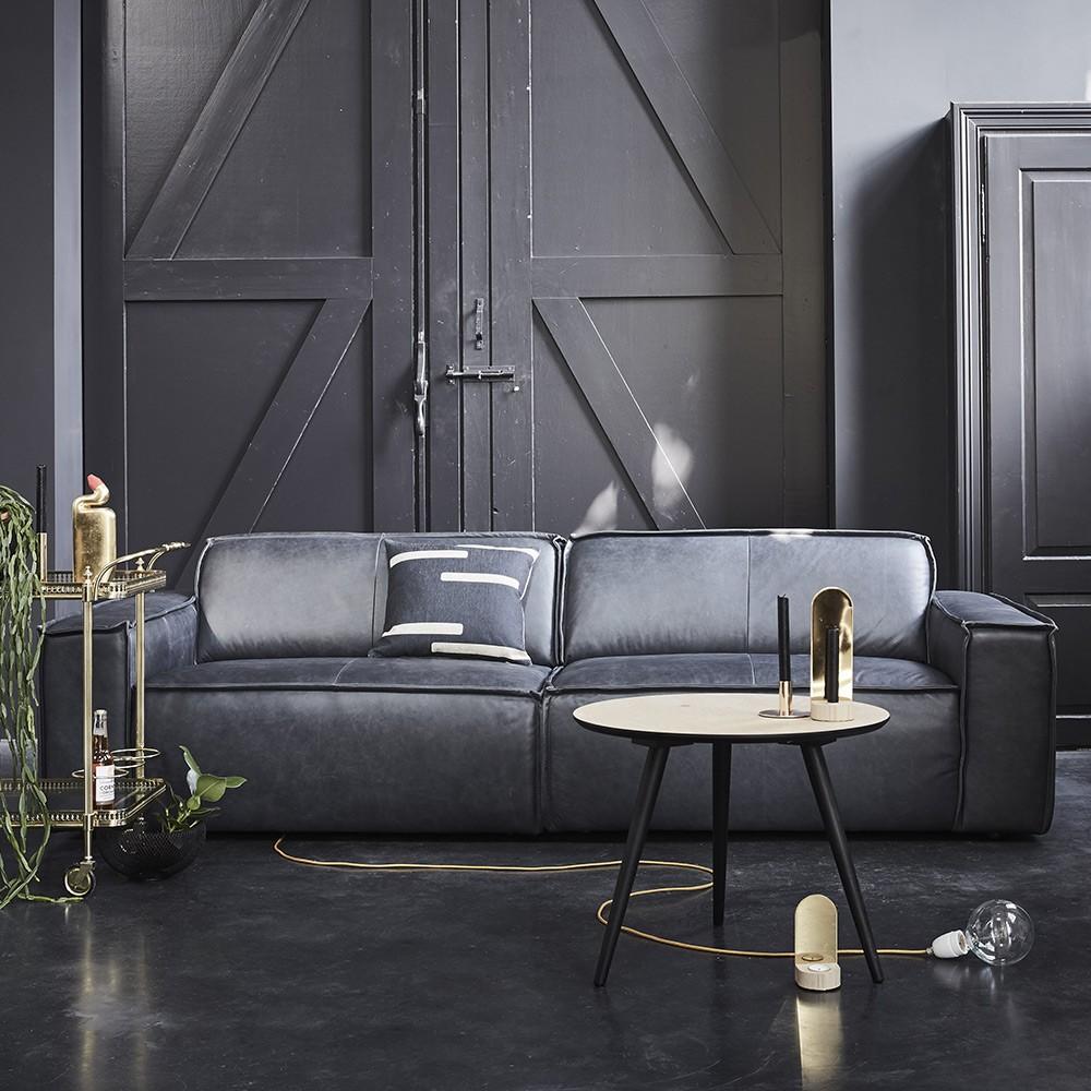 Silva Antracite Edge Da 15004 Sofa Seaters Leather 3 mY7bf6Iyvg