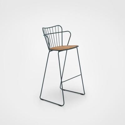 Paon bar stool pine green Houe