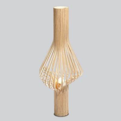 Diva oak floor lamp