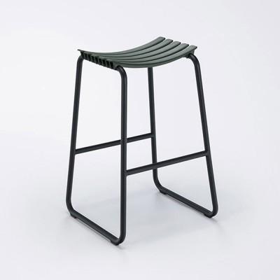 Clips bar stool pine green Houe