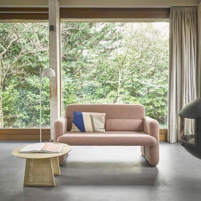 Canapé Studio rouge corail HK Living