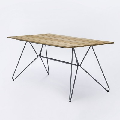 Sketch dining table 160cm bamboo