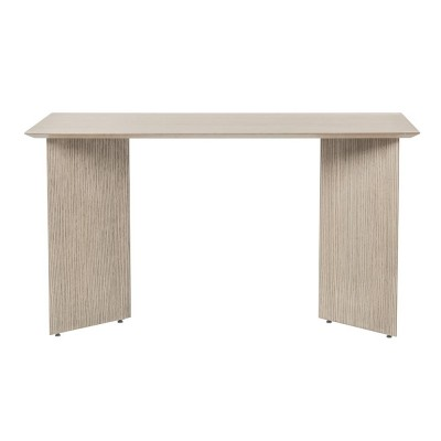 Mingle desk 135 cm light oak