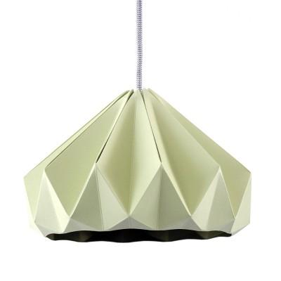 Suspension origami en papier Chesnut vert Snowpuppe