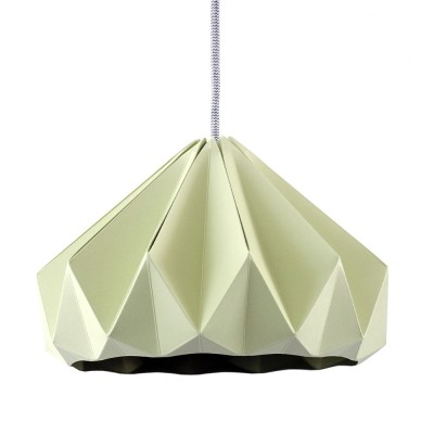 Suspension origami en papier Chesnut vert