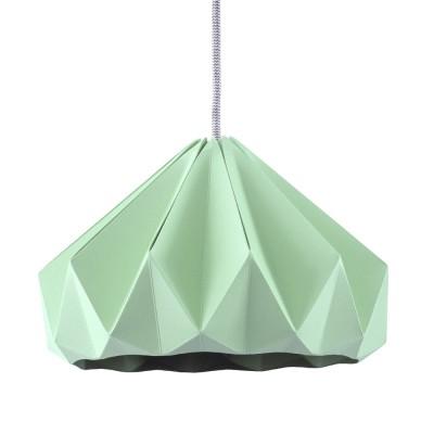 Suspension origami en papier Chestnut vert menthe Snowpuppe