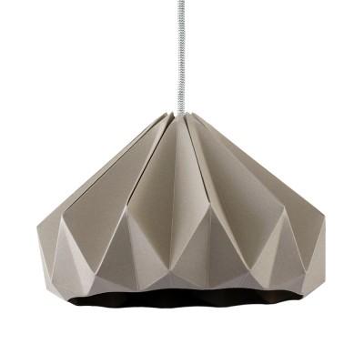 Suspension origami en papier Chestnut marron