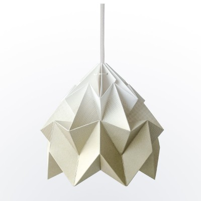 Suspension origami en papier Moth or dégradé Snowpuppe