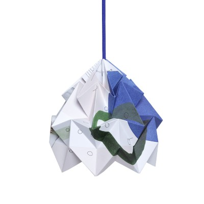 Suspension origami en papier Moth Droom Snowpuppe