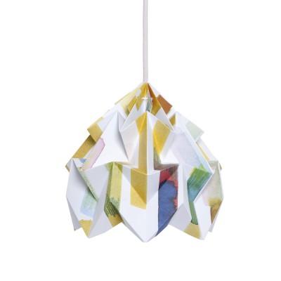 Moth paper origami lamp Midzomer