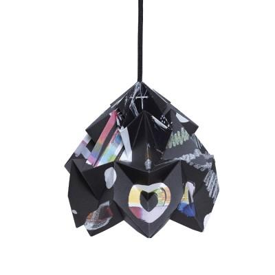 Suspension origami en papier Moth Nacht