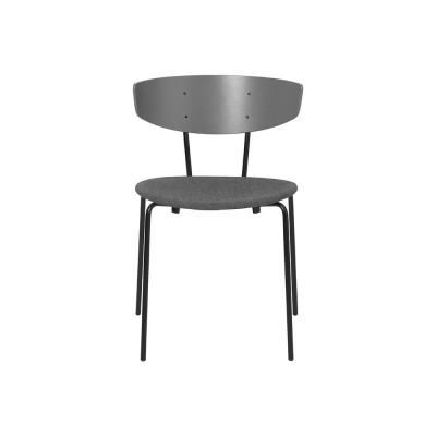 Set of 2 Herman chairs grey fabric Ferm Living