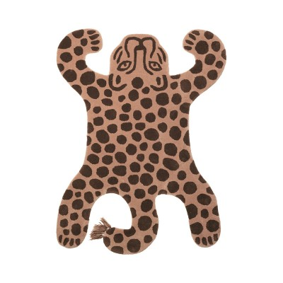Safari rug leopard