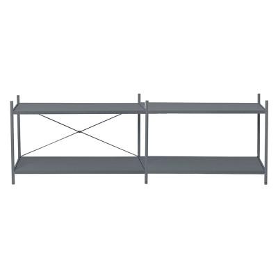 Shelf Punctual 2x2 dark blue Ferm Living