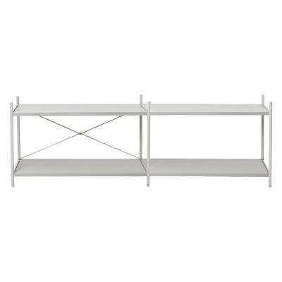 Shelf Punctual 2x2 grey Ferm Living