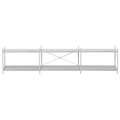 Shelf Punctual 3x2 grey Ferm Living