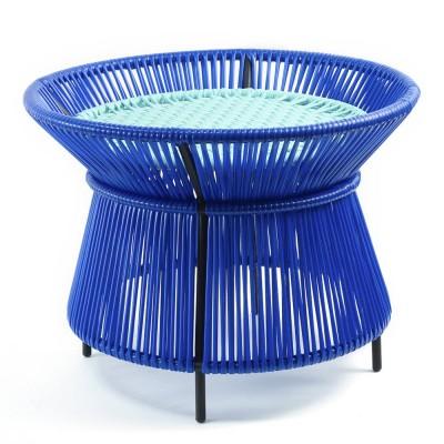 Table basse Caribe bleu, menthe & noir ames
