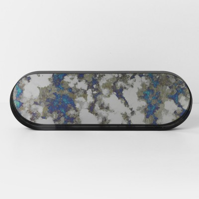 Coupled tray oval blue Ferm Living