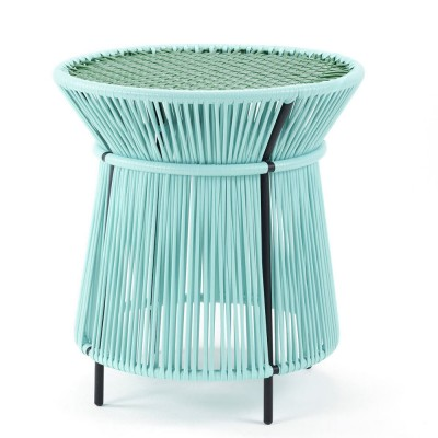 Caribe high table mint, green & black
