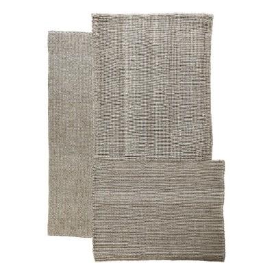 Cabuya rug natural brown S