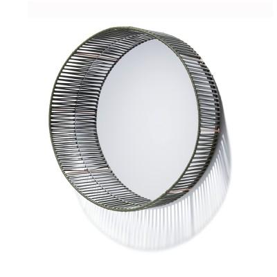 Miroir rond Cesta vert olive & chair ames