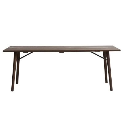 Alley 205 cm table smocked oak