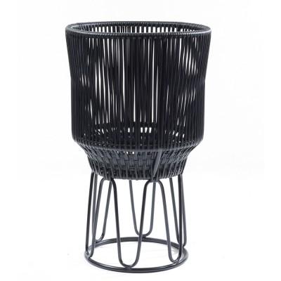 Circo flower pot 2 black matt & black