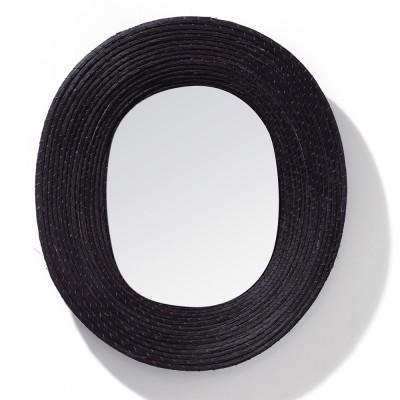 Miroir Killa ovale noir ames