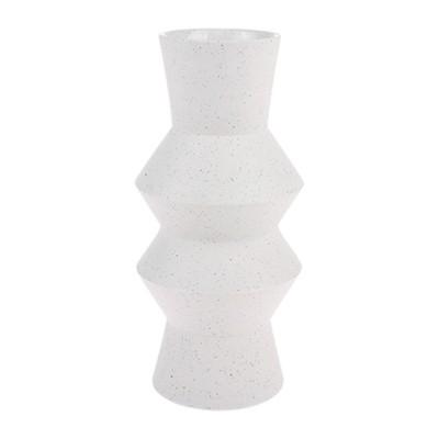 Vase mouchetée angular M