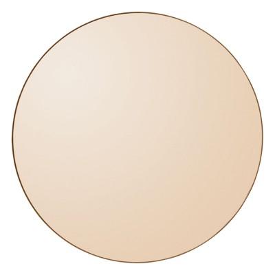 Circum mirror 70 cm amber AYTM