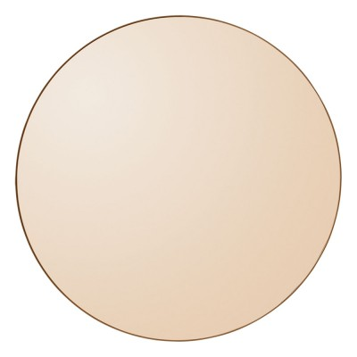 Miroir Circum 70 cm ambre AYTM