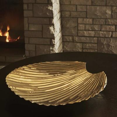 Concha dish gold