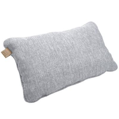 Silver rectangle cushion Loft