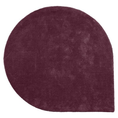 Tapis Stilla bordeaux L