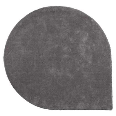 Tapis Stilla gris foncé L