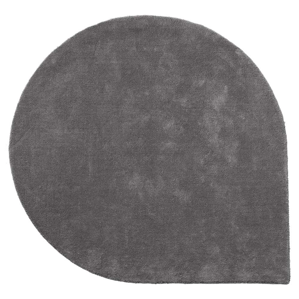 Stilla rug dark grey L