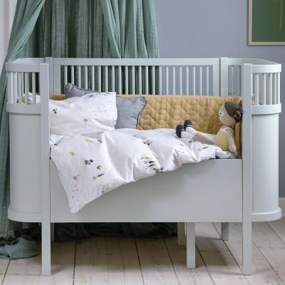 Sebra bed mist green